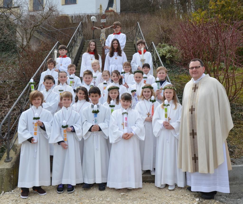 Erstkommunion Binswsangen 2013